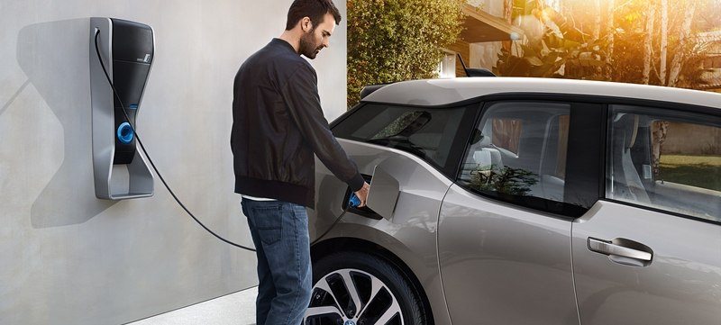 Borne de recharge wallbox BMW i3