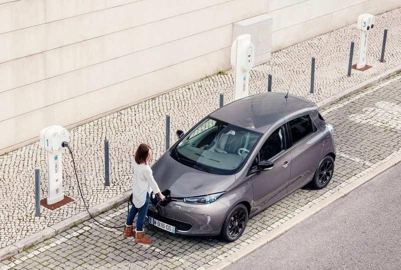 Brancher une Renault Zoe