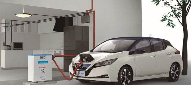 Comment recharger une Nissan Leaf?