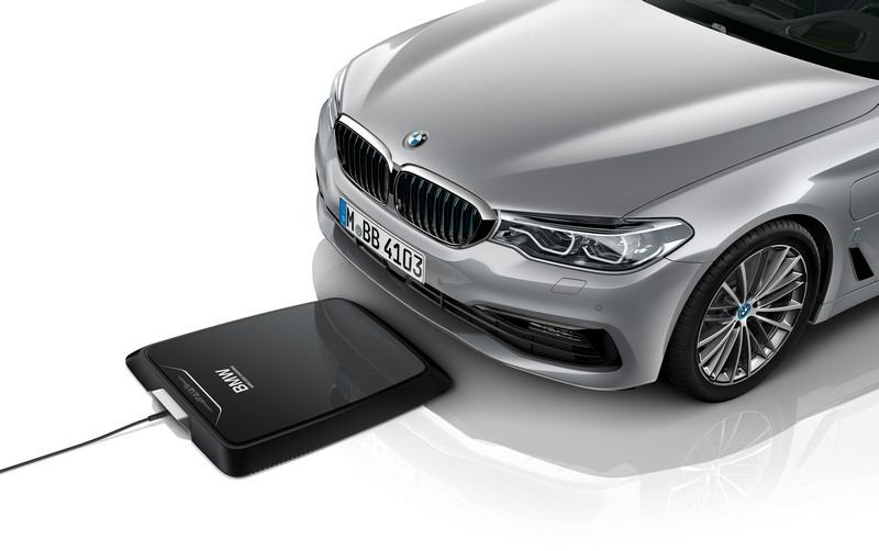 Chargeur par induction BMW