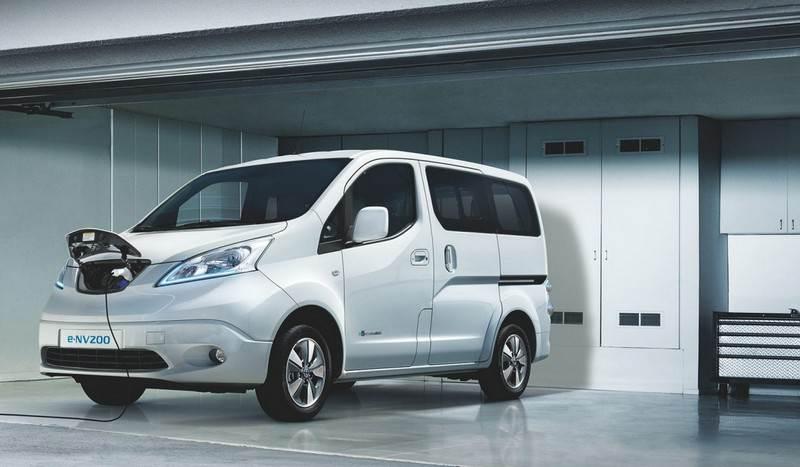 Rechargement Nissan e-NV200