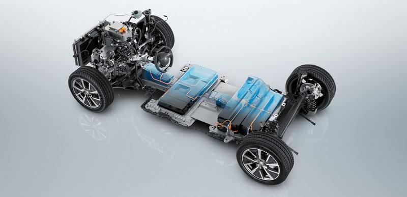 Batterie de la Peugeot e-208