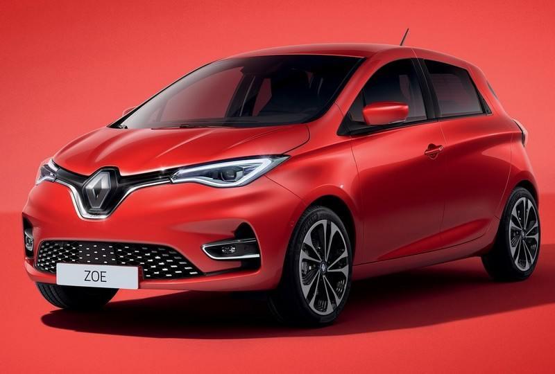 La Renault ZOE 2 en rouge
