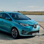 Trappe pour recharger la Renault ZOE 2 2019