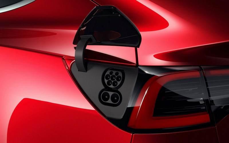 Prise de la Tesla model 3