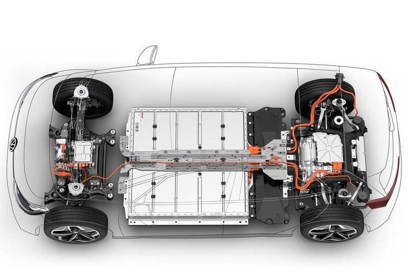 Les batteries plancher de la VW ID.3
