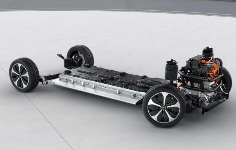 Plate-forme Mercedes EQV