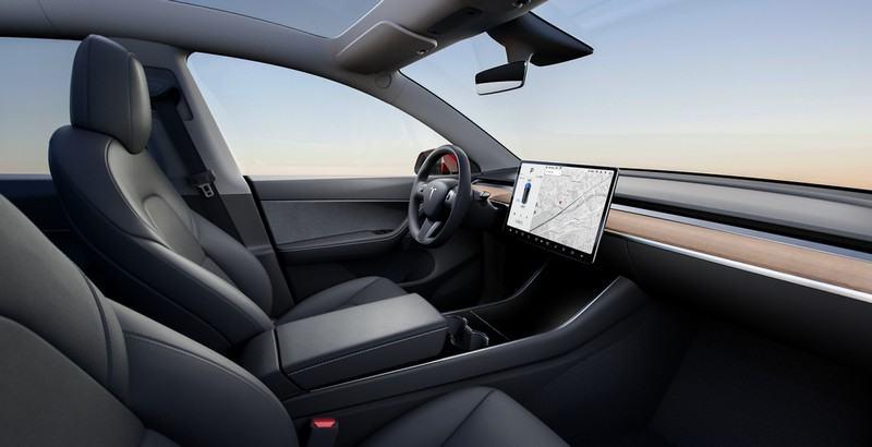 intérieur Tesla Model Y