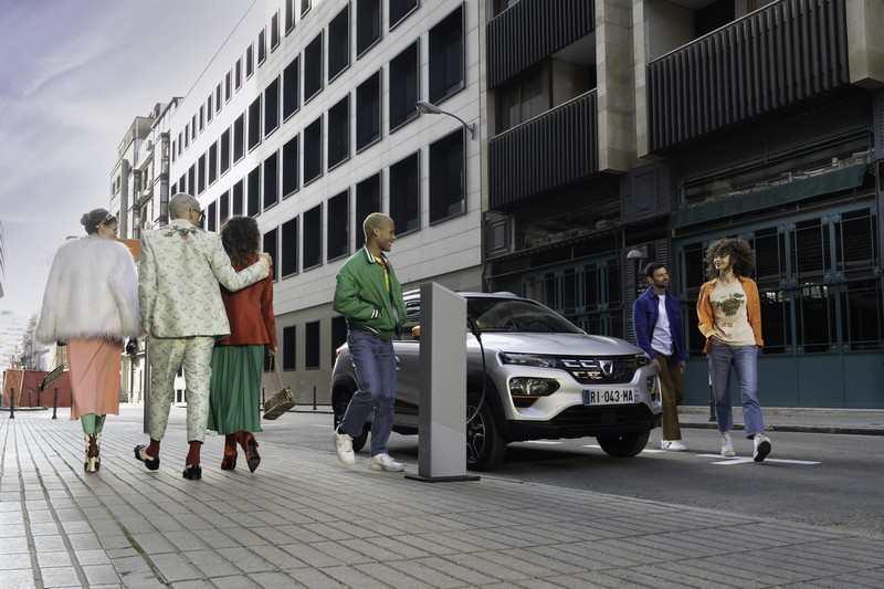 Dacia Spring en ville
