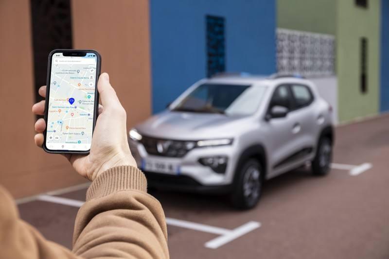 Application pour la Dacia Spring