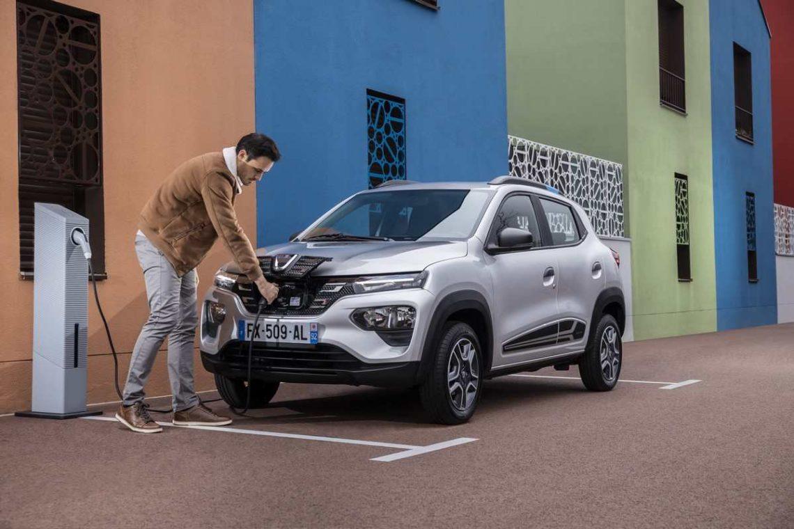 La Dacia Spring se recharge