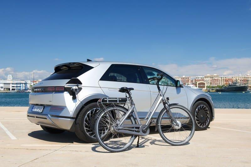recharge d'un vélo Hyundai Ioniq 5